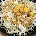 丼太郎 - セットのサラダ