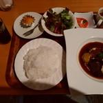 92806420 - [ぜいたくランチ]国産牛ホホ肉の赤ワイン煮