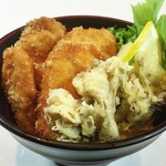 つるおか旬暦 彩鶴 - 秋のオススメ丼 きのこ鶏カツ丼