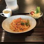 盆栽レストラン大宮 - ナポリタン。 税込950円。 美味し。