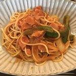 盆栽レストラン大宮 - ナポリタン。 美味し。