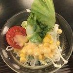 盆栽レストラン大宮 - サラダ。 美味し。