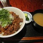 カフェ ジョージズ - どて丼¥680