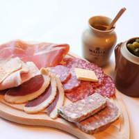 ル・ビストロ・ルバーブ - 前菜   自家製お肉屋さんのオードブル盛り合わせ