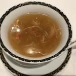 銀座アスター - 〇蟹肉ふかひれスープ4,860円