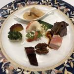銀座アスター - 〇前菜盛合せ5,508円