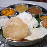 南インド プドゥチェリ - 料理写真: