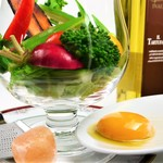 東京料理 ゑの木 - 受賞のサラダ