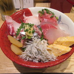海鮮丼 福貫 - 料理写真:「日替わり目利き丼」