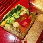 ろんど - 在来野菜と季節野菜のテリーヌ