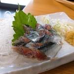 丸大ホール - 料理写真:秋刀魚刺し身