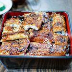 上村うなぎ屋 - 料理写真:地焼き鰻(4切れ)