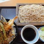 いわもとQ 麹町店 - 小天丼セット(もり)