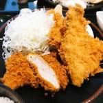 とんかつ こころ - 料理写真:穴子ひれかつ定食