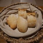 バンケッティ - パン 自家製のフォカッチャ