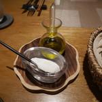 バンケッティ - ムースバターとオリーブオイル