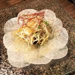焼肉×モダン個室 居酒屋 Haru Haru - 大根カルパッチョ〜大根を韓国風味噌で〜(580円)