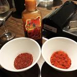 焼肉×モダン個室 居酒屋 Haru Haru - 唐辛子サービス♡これ嬉しすぎてヤヴァイやつ!