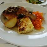 イタリア食堂 MARIA - 本日のランチ 骨付き鶏もも肉白ワイン煮込み