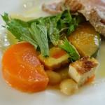 イタリア食堂 MARIA - 季節野菜のサラダ