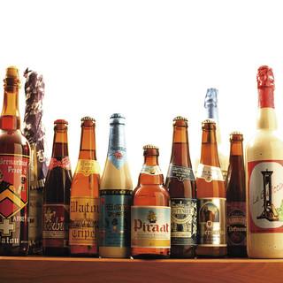 20種~ベルギー・アメリカ・日本・自社醸造樽生クラフトビール