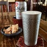 竹やぶ - ノンアルコールビールとお通し