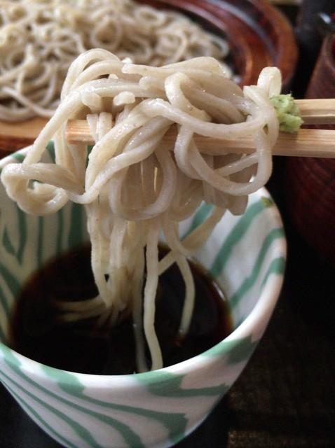 竹やぶ 柏本店 - 濃いそばつゆは、藪の系統。旨し!