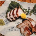 竹寿し - タコのお刺身