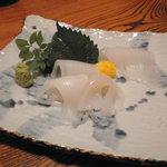 竹寿し - イカ刺し