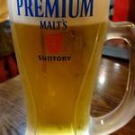 天香一 - 生ビール