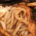 麺闘庵 - けっこう量多い