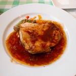 92832491 - 若鶏モモ肉のオーブン焼き