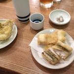 魚真 - 穴子が大きい!!