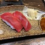 やきとりとおばんざい鳥忠 - マグロの寿司