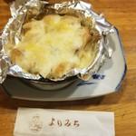よりみち - つくねチーズ月見(明太子バージョン)