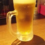 しゃがら - 「一口ビール」¥250税込