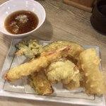 魚漁 - 天ぷら5種盛り♪
