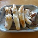 いかやき 福寿草 - いかやき レシートではヤキイカ 350円