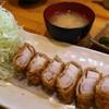 金の豚 おか田 - 料理写真:とんかつ定食 バラトロ