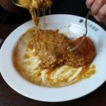 CoCo壱番屋 - チーズが多すぎ