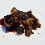 きた山 - 前菜:フォアグラ、穴子