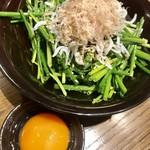 串カツ キンザン - ネギサラダ¥430(外税)
