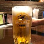 赤焼瓶 - 生ビール