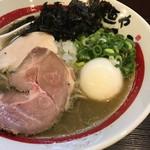 麺や でこ - 【味玉追い煮干しそば…900円】2018/8