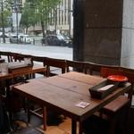 92848295 - 淀屋橋の駅近で、一番オシャレなカフェかも?