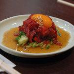 三宿トラジ - 料理写真:ユッケ