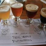 せきのいち - 2007/10 蔵ビール 飲み比べセット