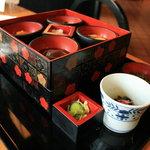 せきのいち - 2007/10 餅膳 上段