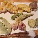 Taruyagensuke - 旬野菜の天ぷら
