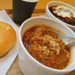 スープストックトーキョー - 茄子と黒オリーブのシチリア風シチ